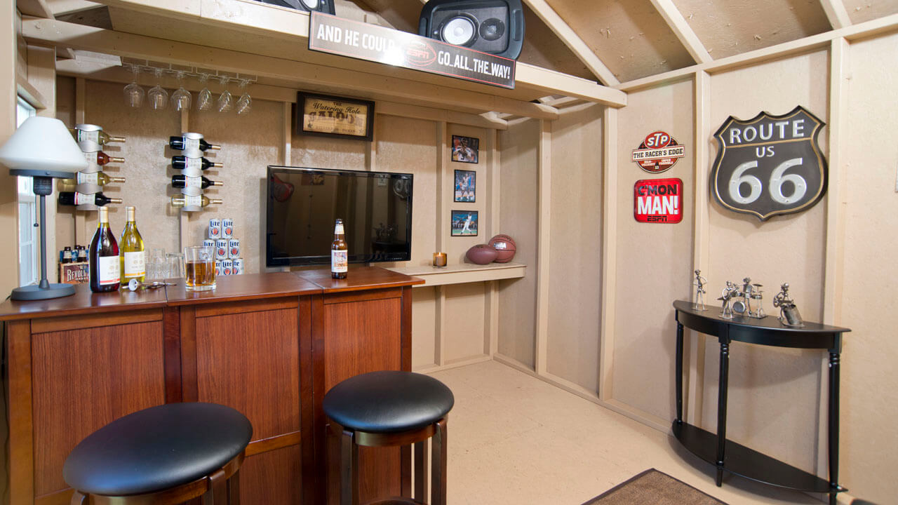 Backyard Bar Shed Ideas