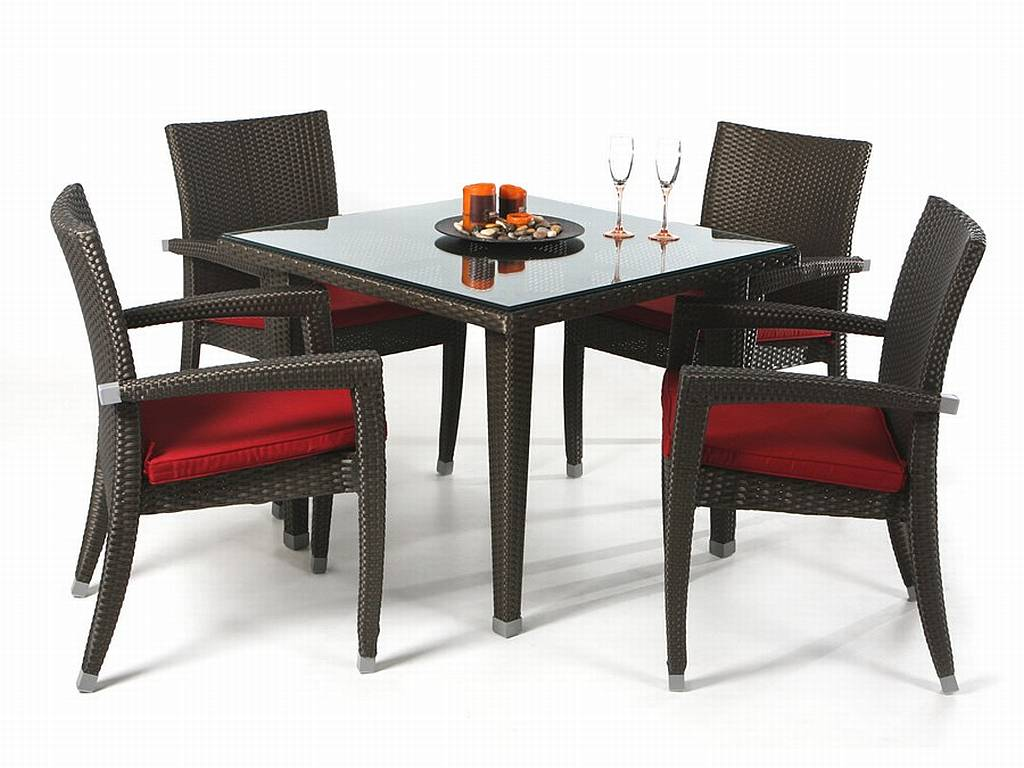 Wicker dining table and chairs images torrey all weather round