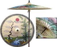 Oriental Umbrella- 7ft Diameter - 0001-c11