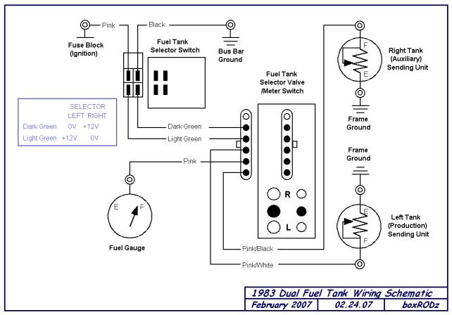 Pollak 6 Port Fuel Selector Valve Wiring Diagram - Somurich