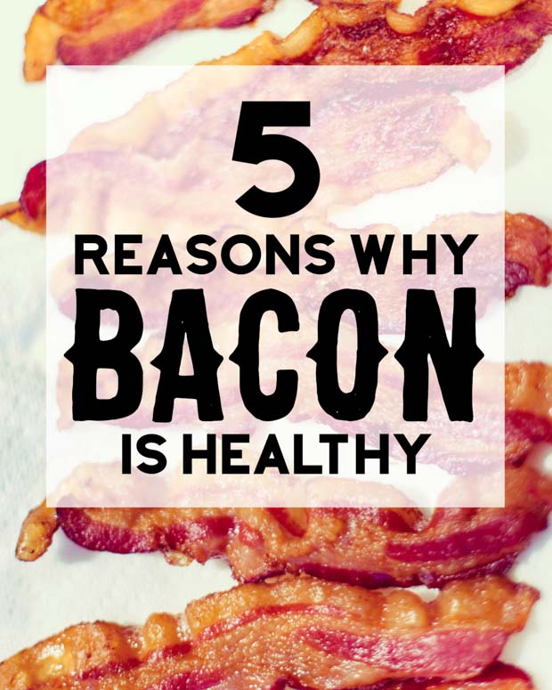 Is bacon good for you? Find out 5 reason why bacon is healthy. You'll be surprised!