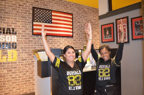 Acting a Fool at Buffalo Wild Wings and taking the Big Kick Challenge