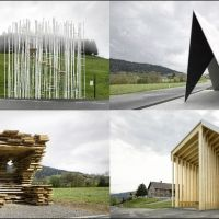 Krumbach's Creative Bus Shelters