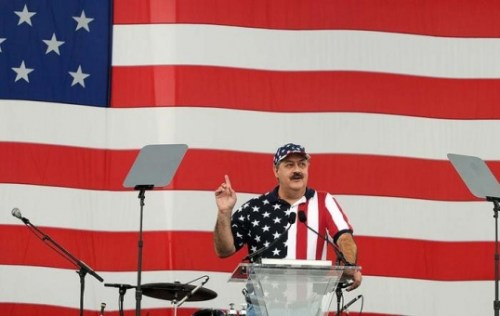 Blankenship at 2009 Labor Day rally
