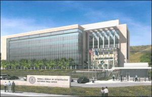 Rendering of proposed new FBI headquarters