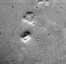 Viking Orbiter 1 Frame 070a13, taken 24 August 1976