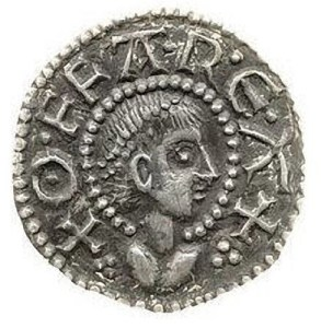 Coin of Offa, King of Mercia 757-795