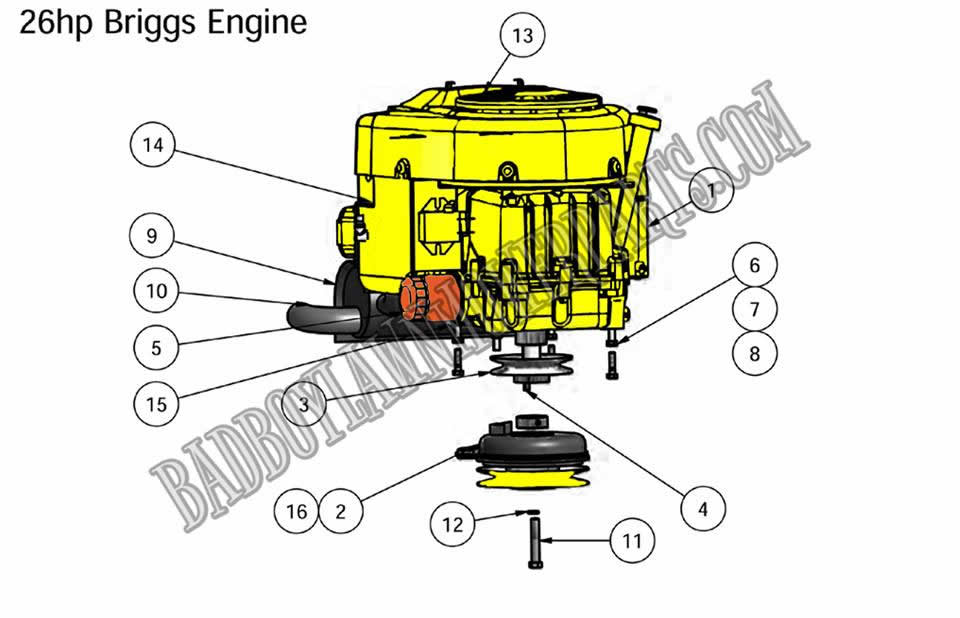Briggs 26 Stratton Engine Diagram Wiring Diagram