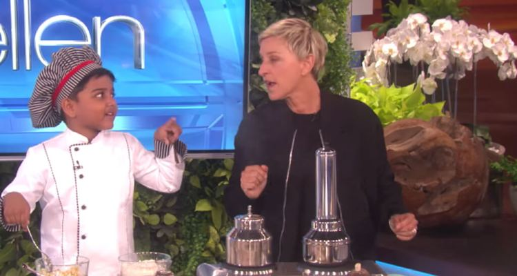 6-Year-Old Chef Kicha Cooks with Ellen