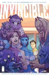 Invincible #127, copertina di Cory Walker