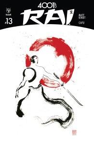 4001 AD Rai, copertina di Clayton Crain