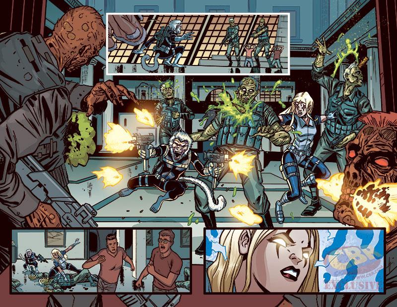 Howling Commandos of S.H.I.E.L.D. #5, anteprima 01