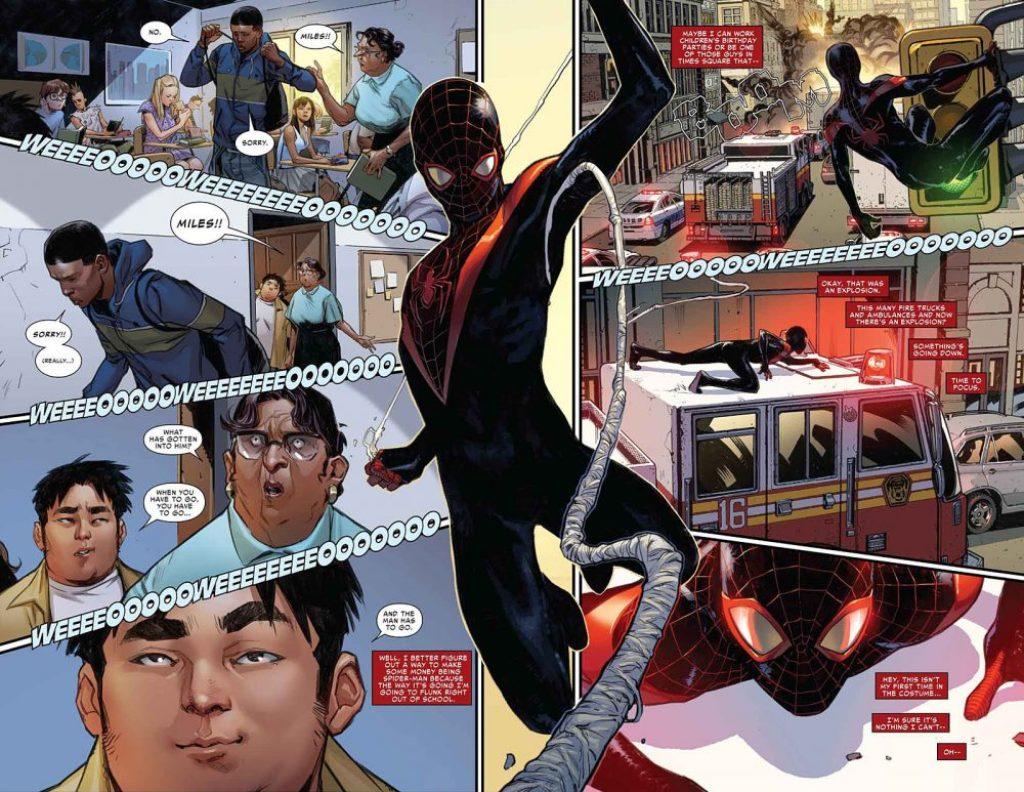 Spider-Man #1, anteprima 3