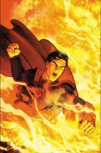 Superman #52, copertina di Mikel Janin