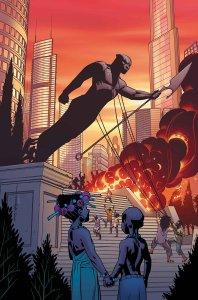 Black Panther #2, copertina di Brian Stelfreeze