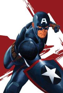 Captain America: Steve Rogers #1, variant cover di Steve Epting