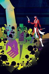 Red Wolf #6, copertina di Jeffery Veregge