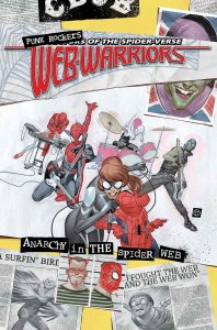 Web-Warriors #7, copertina di Julian Totino Tedesco
