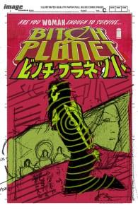 Bitch Planet #6, schizzi di Valentine De Landro 02