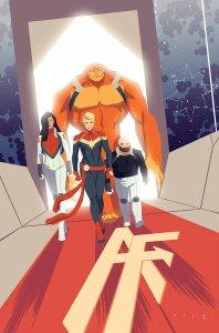 Captain Marvel #3, copertina di Kris Anka