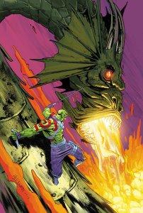 Drax #5, copertina di Scott Hepburn