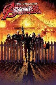 Uncanny Avengers #7, copertina di Ryan Stegman