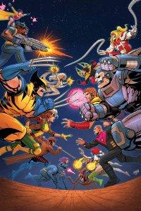 X-Men '92 #1, copertina di David Nakayama