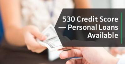 530 Credit Score? Top Bad Credit Personal Loans (2019)