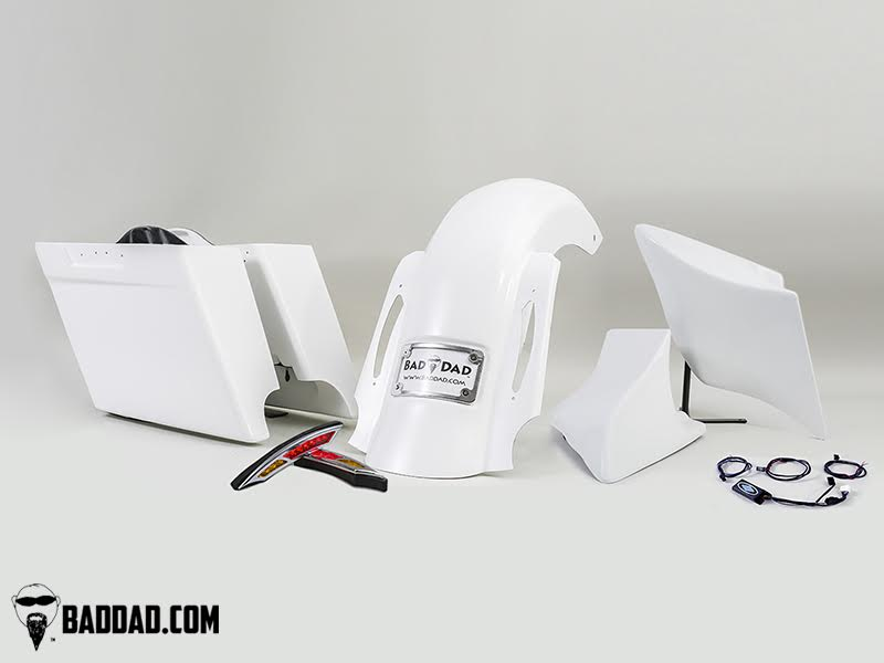 Complete Summit Kit with Side Covers Bad Dad Custom Bagger Parts