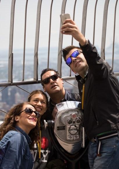 Selfie from the Empire State - Bob Braine - 20 Jun 2017