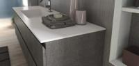 Corian-Waschtisch und Waschbecken   Badezimmer-Direkt