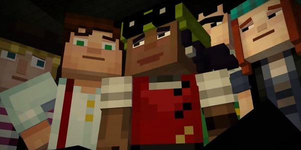 Minecraft: Story Mode banner