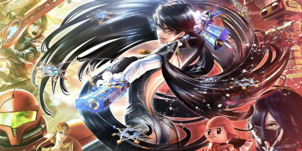 Bayonetta Super Smash Bros. banner