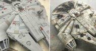 Un modellino Hasbro diventa un perfetto Millennium Falcon