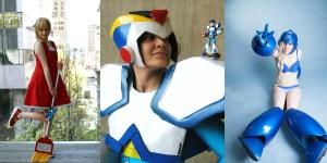 Banner Mega Man Cosplay