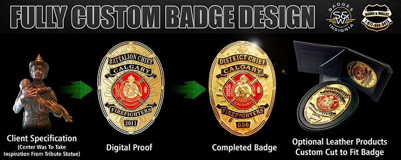 Fully Custom Badge Badge And Wallet