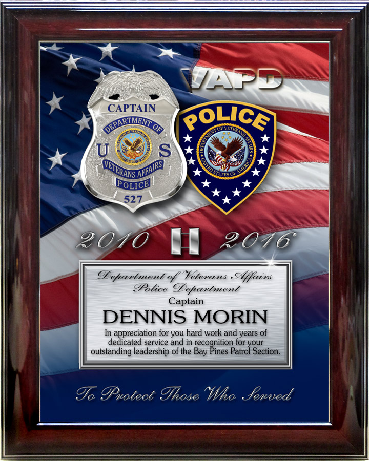 Department of Veteran\u0027s Affairs PD