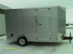 Beauteous Cargo Trailers 7 X 12 Bathroom 7 X 12 Tarp X Cargo Trailer Ramp Door Badger Trailer