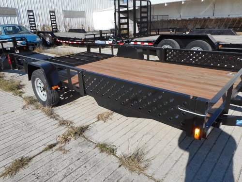 Elegant Single Axle Utility Trailers 7 X 12 Bathroom 7 X 12 Cargo Trailer Forest River X Atv Utility Trailer Badger Trailer