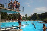 Schwimmbad Sandgruben, Pratteln BL