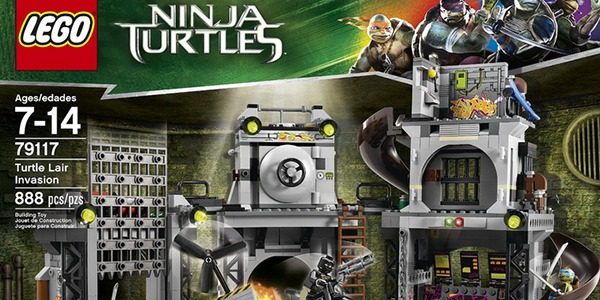 Lego presenta la nuova linea ispirata alle tartarughe for Lago tartarughe