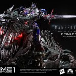 Sideshow Collectibles Grimlock Optimus Prime 1