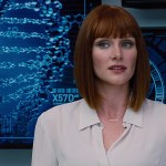 Jurassic World: Bryce Dallas Howard e Irrfan Khan in una nuova foto