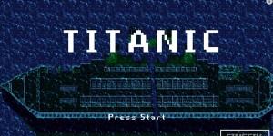 titanic 8 bit banner