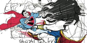 Justice League- Mortal  superman wonder woman