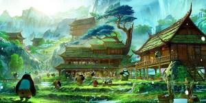 Kung Fu Panda 3 concept