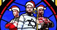 Seth Rogen, Joseph Gordon-Levitt e Anthony Mackie cantano Runaway nella clip di The Night Before