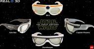 Star Wars: Il Risveglio della Forza, ecco le special edition degli occhialini 3D