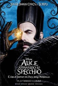 Alice attraverso lo specchio tutti i character poster italiani - Film alice attraverso lo specchio ...