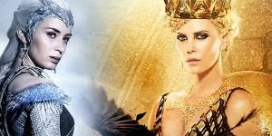 Il Cacciatore e la Regina di Ghiaccio banner